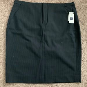 New with tags Gap pinstripe pencil skirt